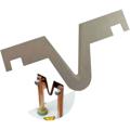 Obrazek Ostrze zamienne (zapasowe) w kształcie litery V , 1 szt