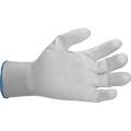 Obrazek Rękawice białe PU (12 par)