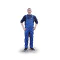 Obrazek Ogrodniczki - spodnie robocze - niebieskie
